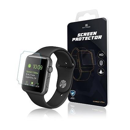EXINOZ® Apple Watch Protector para Pantalla 1 año de garantía de reemplazo |Lo Mejor para su Smart Watch de Apple (42mm)