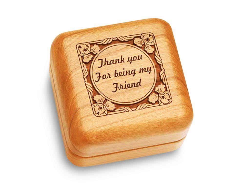 Music Box 2 1/2'' Square - Thank You For Being My Friend - Fur Elise