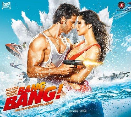 Bang Bang - 2014 Original Bollywood Audio CD / Hrithik Roshan / Katrina Kaif / Vishal Shekhar