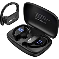 $33 » Wireless Earbuds Occiam Bluetooth Headphones 48H Play Back Earphones TWS Deep Bass in Ear…