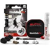 Alpine MusicSafe Pro Music Ear Plugs – Musicians Ear Plugs for Noise Reduction – Concert Earplugs - 3 Noise Reducing Ear…