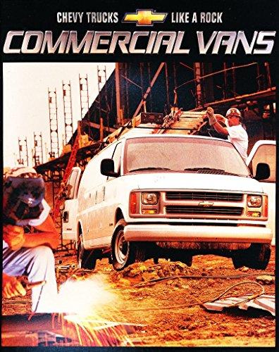 Chevrolet Cargo Vans (2002 Chevrolet Express Cargo Commercial Van 24-page Car Brochure Catalog - Astro)