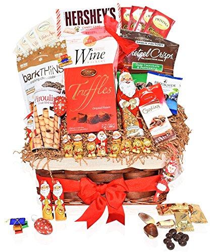 Country christmas breakfast gift basket