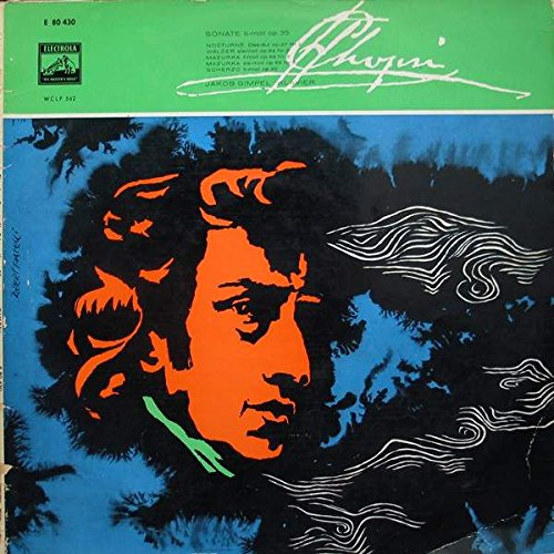 Frédéric Chopin , Jakob Gimpel - Sonate Nr. 2 B-Moll Op. 35 U. A. - Electrola - E 80 430, Electrola - WCLP 562