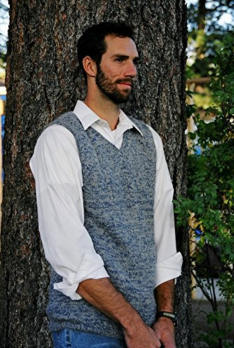 - Knitting Pure & Simple Knitting Pattern #215 Basic Vest for Men - Easy Knit