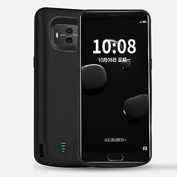 Funda Batería Huawei Mate 10, Moonmini 6000mAh Recargable Externo Portátil Cargador de batería Power Bank Backup Funda de batería Extra integrada ...