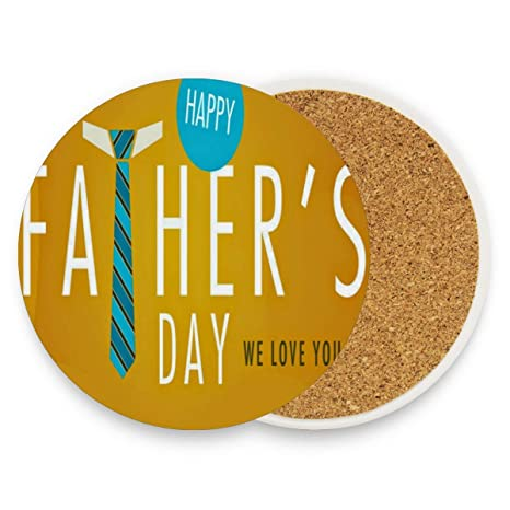 Amazoncom Coasters For Drinks Trendy Fathers Day