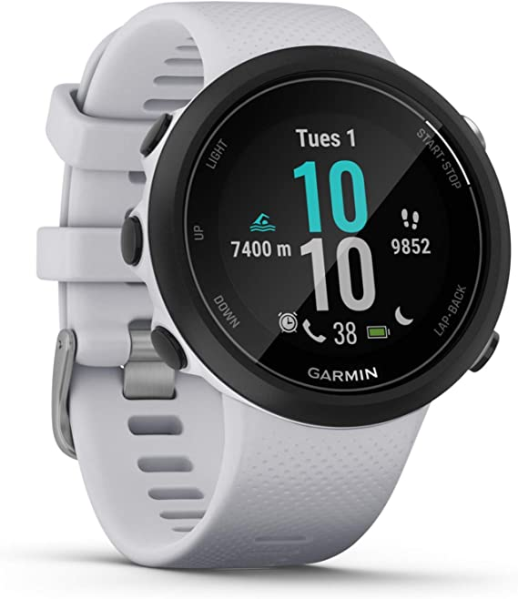 Garmin 2 GPS Swimming smartwatch-Whitestone, White, One Size