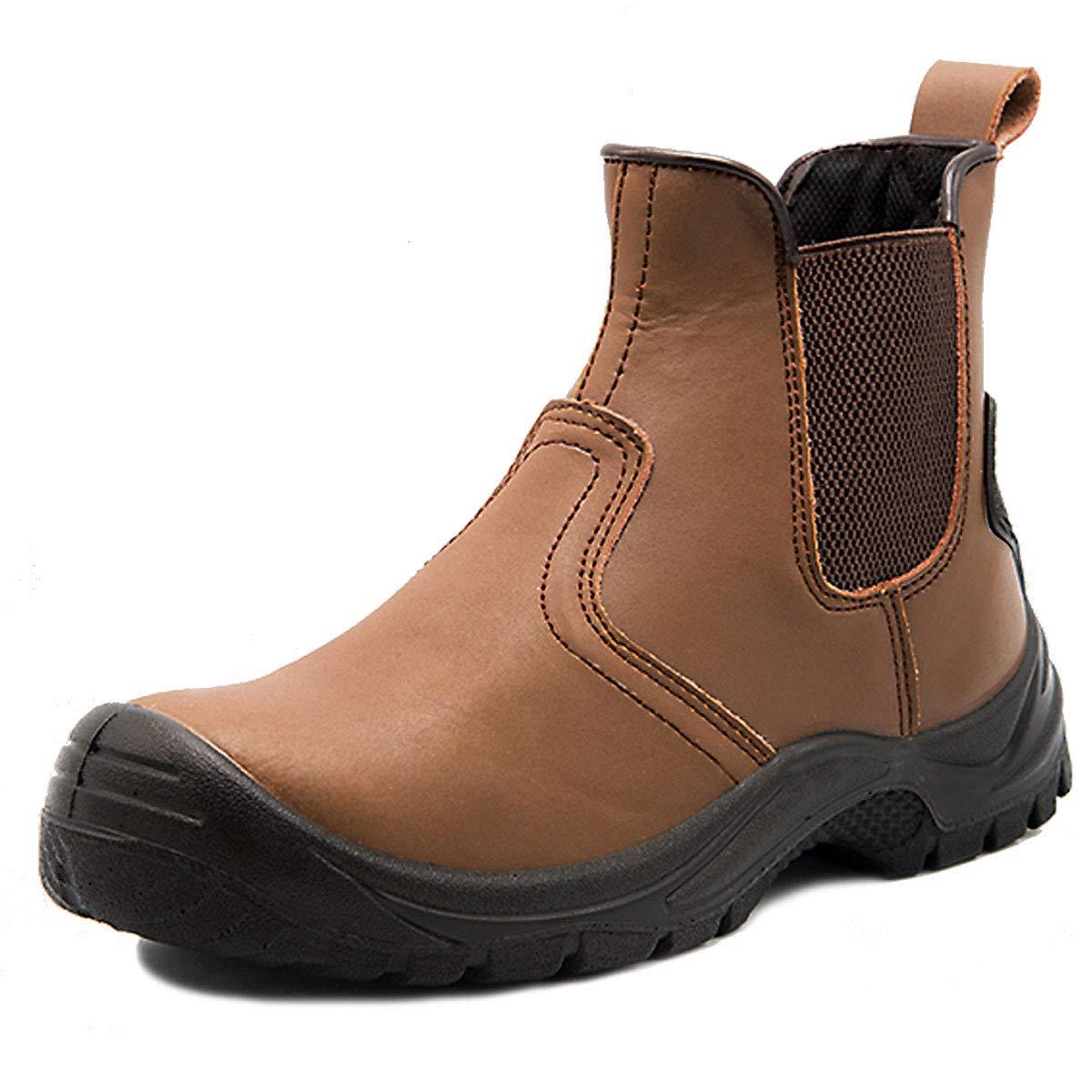 CHNHIRA Chaussure de securité Homme securite Femmes Travail Bottes de Protection