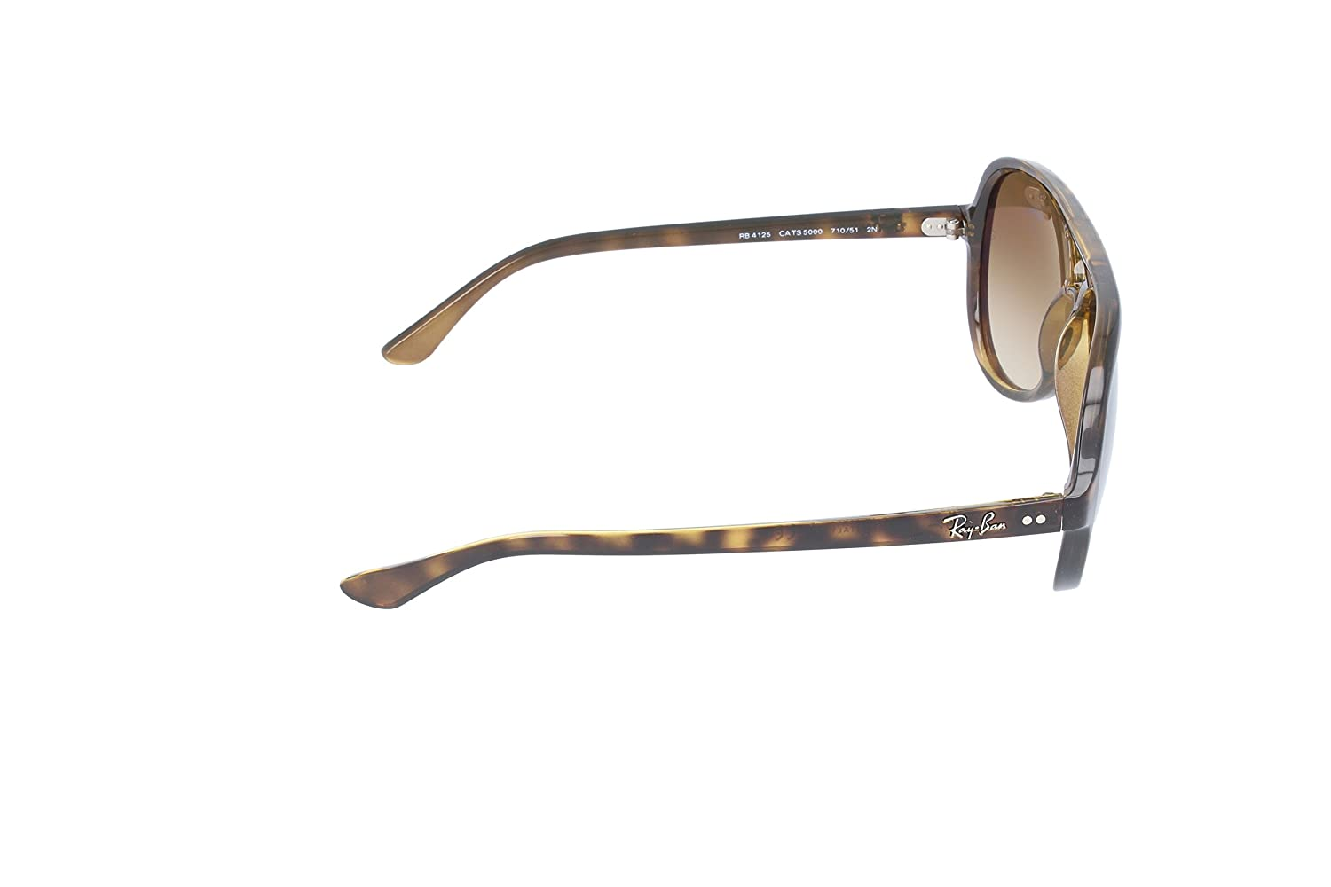 621d5aaf34d Amazon.com  Ray-Ban RB4125 Cats 5000 Oversized Sunglasses  Clothing