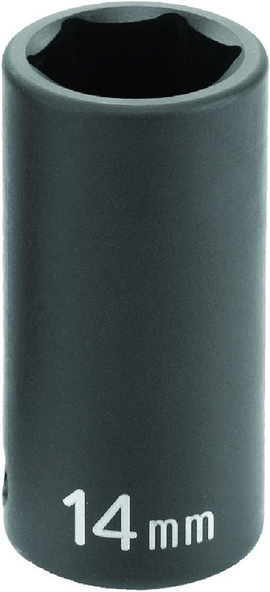 "Grey Pneumatic 1008UM 3//8/"" Drive x 8mm Standard Universal Socket"
