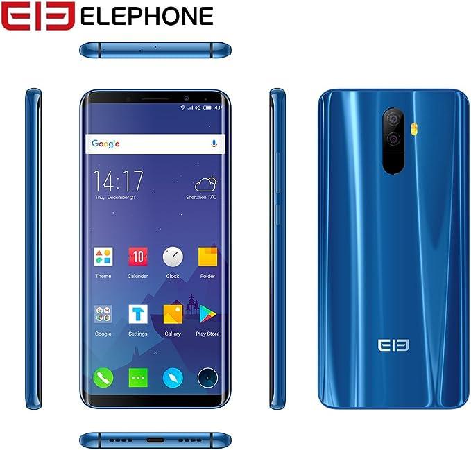 Elephone U 4G Smartphone 5,99 Pulgadas Android 7.1 MTK6763 Octa ...
