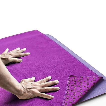 Serviette Pour Tapis De Yoga,Non Slip Tapis De Yoga ...