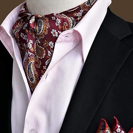 HQQ Bufanda para Hombre Pajarita Bufanda Camisa con Cuello Redondo, 50.4 * 6.3 Pulgadas, una Variedad de Estilos Disponibles (Color : #3): Amazon.es: Hogar