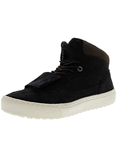 bc016c4ac66 Vans Mountain Edition Waxed Suede Black High-Top Snow Sneaker - 8M   6.5M
