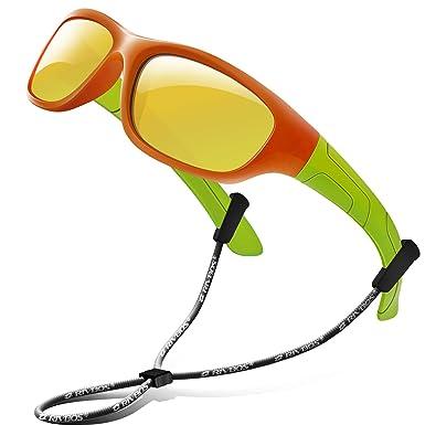 Amazon.com: Rivbos RBK025 - Gafas de sol de goma, flexibles ...