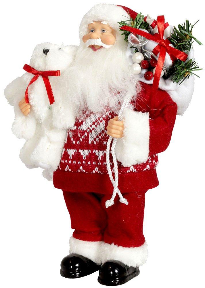 Promoción por tiempo limitado Lot de 3 – Figura de Papá Noel 'Edvin' 30 cm – Calidad coolminiprix
