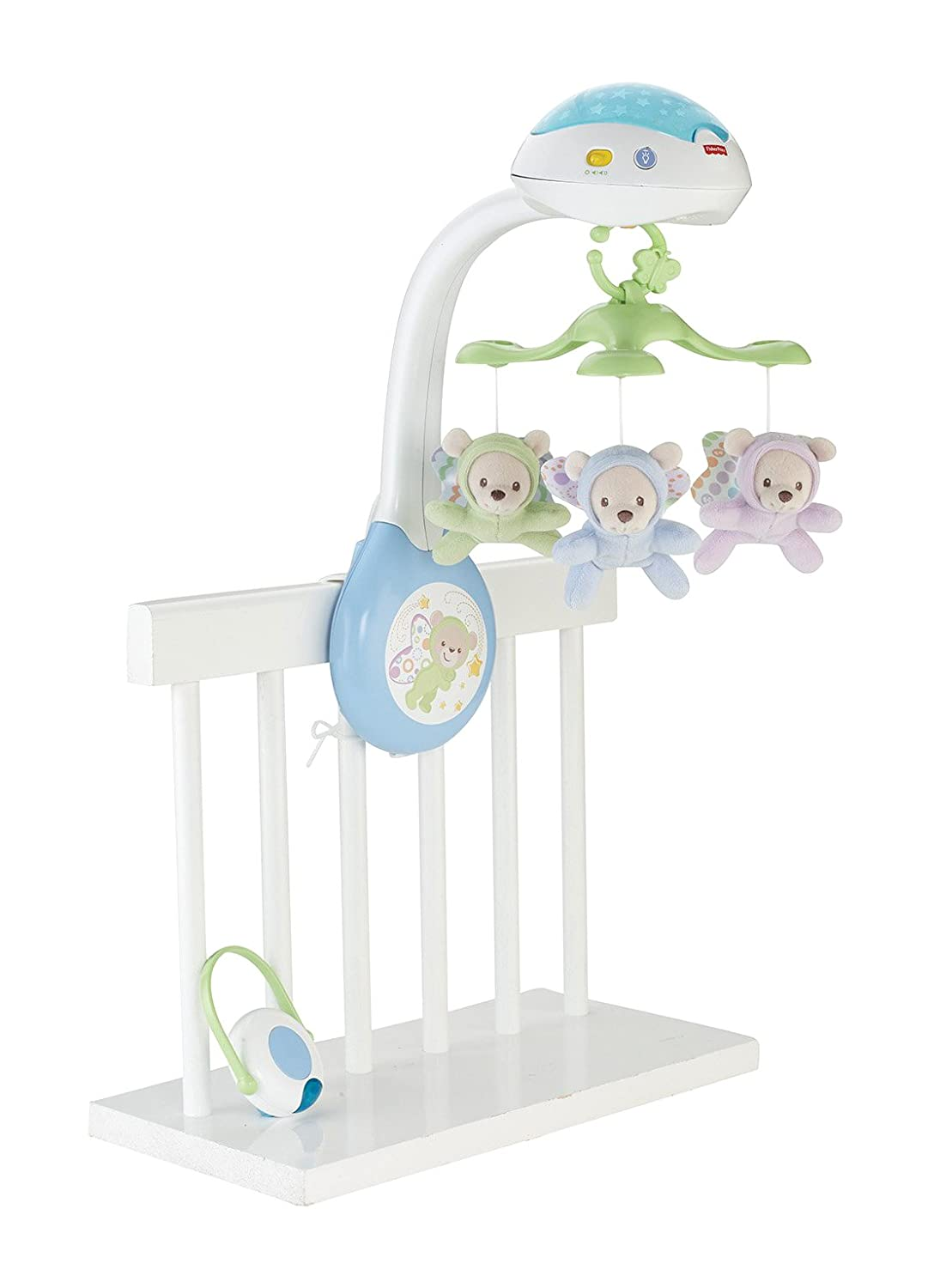 fisher price mobile butterfly projection baby boy girl toy crib cot music gift ebay. Black Bedroom Furniture Sets. Home Design Ideas