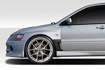 2003 2007 Mitsubishi Lancer Evolution 8 9 Duraflex VR S Front Fenders   4