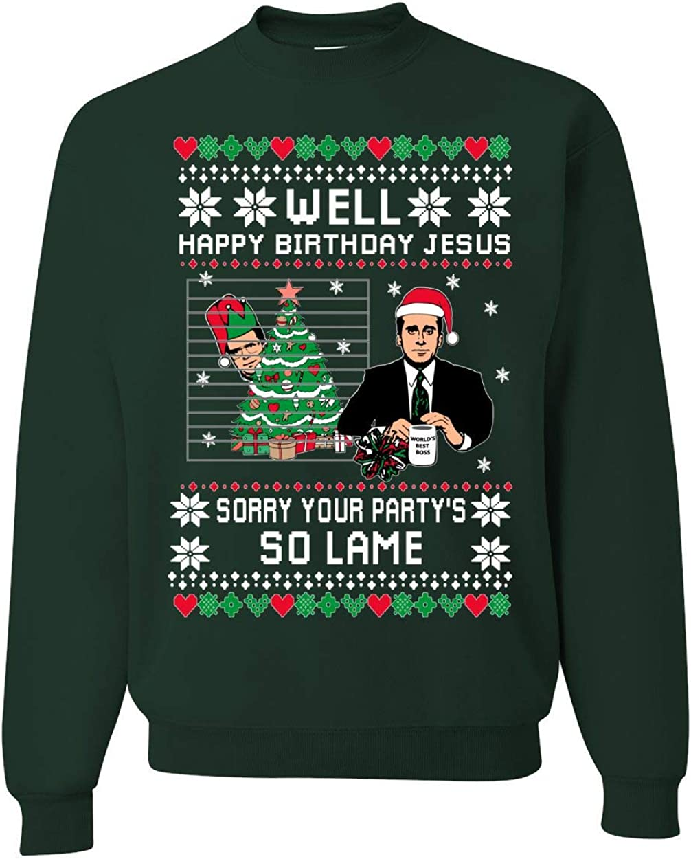 Top 6 Ugly Christmas Sweater The Office Theme