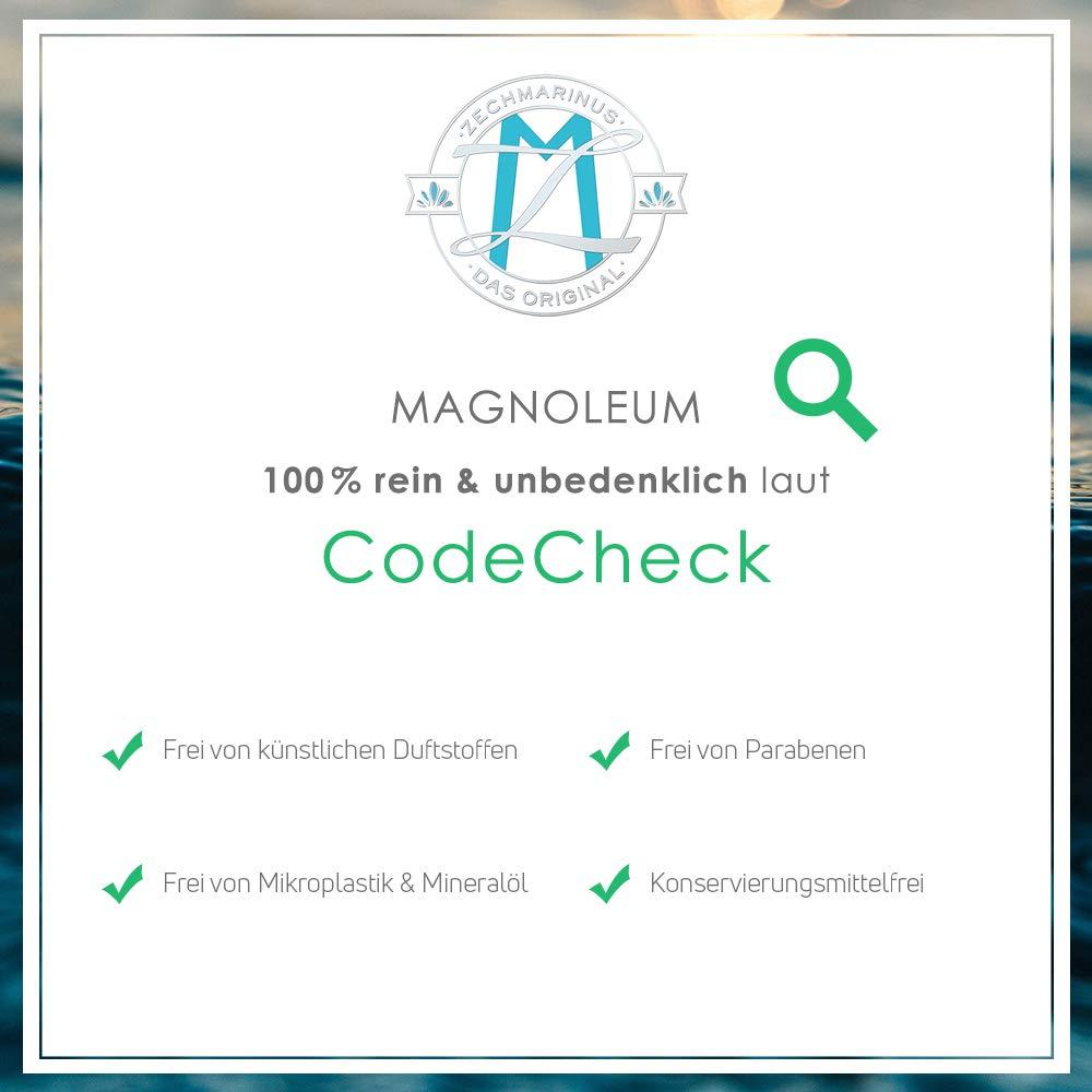 magnesiumöl Original ZECH piedra magnoleum rodillo de masaje 75 ml - dermatológicamente probada clínicamente - Magnesio aceite para la piel en cristal de ...