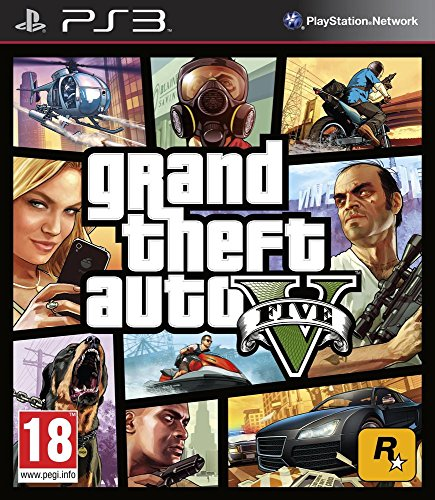ps3 game grand theft auto 5 - 6