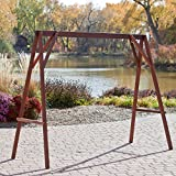 Belham Living Richmond Wood Porch Swing Stand