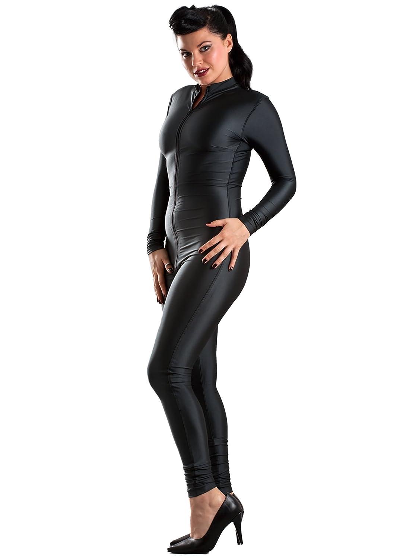 Amazon.com: Purr – Vestido de lencería Catsuit en Licra ...