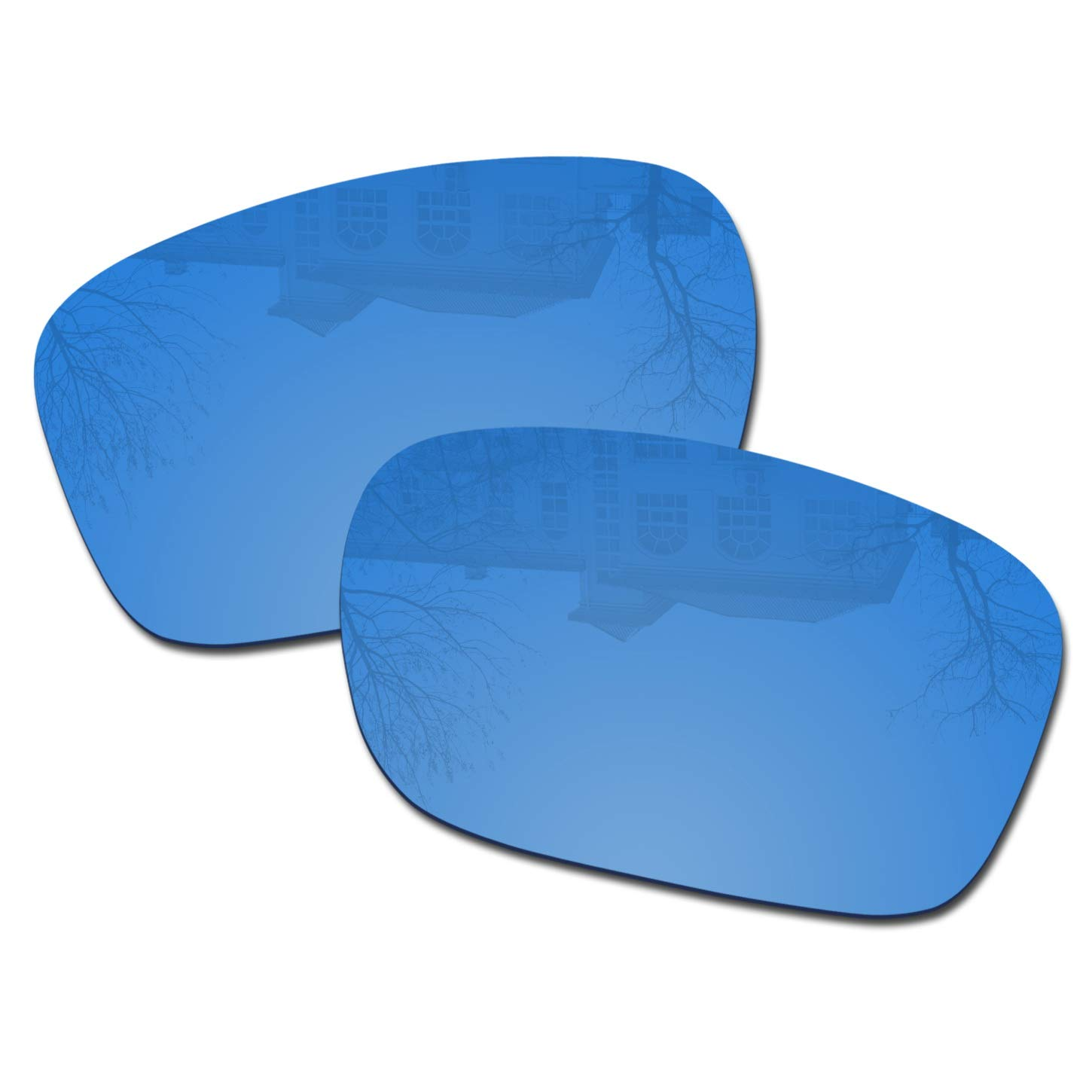 Millersawp Holbrook OO9102 Replacement Lenses Compatiable with Oakley Sunglass-HD Blue by Millersawp