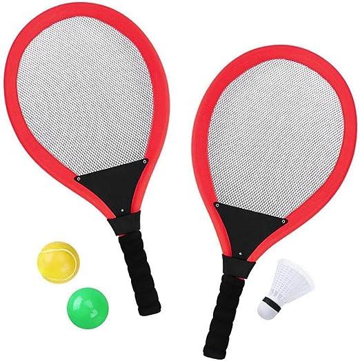 eamqrkt Niño Raquetas de Tenis Set con Volante Plus 2 Esferas ...