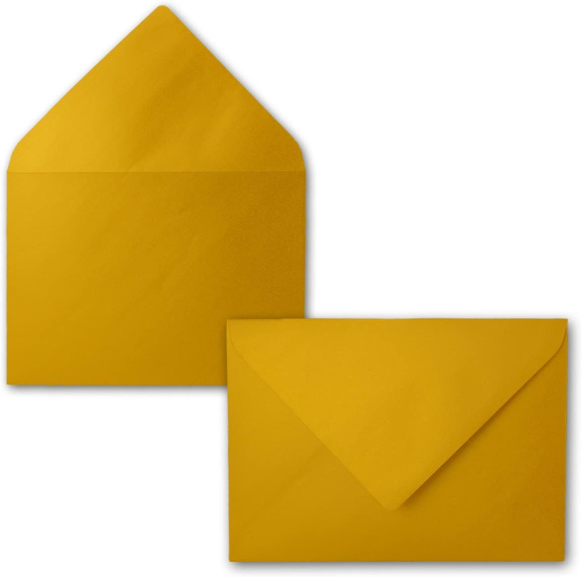 110/g//m/²////Neuser oro metallizzato e stabile Buste formato DIN C5////15,3/x 21,8/cm////na/ßklebung C5 gold
