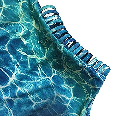 Uideazone Ladies Floral Bikini Monokini Push Up Padded Swimwear Swimsuit