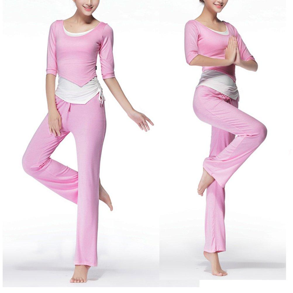 3 Pieces Zhuhaitf Womans Fashion Modal Soft Yoga Wear Sports Fitness Clothes