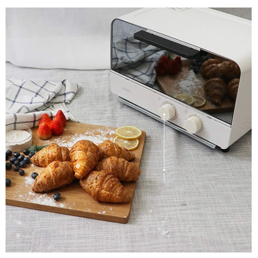 NKDK オーブン制御およびタイマー - 3つの調理機能のオーブンの制御およびタイマー - 800W 12L小型オーブンの炊事道具グリル、調節可能な温度   B07PLYSPY6
