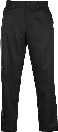 Slazenger - Pantalones de golf para hombre, con cremallera, corte estándar