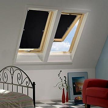 Trendig Auralum 38 x 75cm Sonnenschutz Dachfensterrollo Beschichtung für  OT51