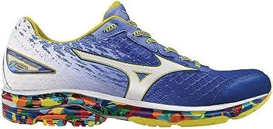Mizuno Wave Rider 19 Osaka - Zapatillas de running para hombre, DirectoBlue/White/Bolt, 39: Amazon.es: Zapatos y complementos