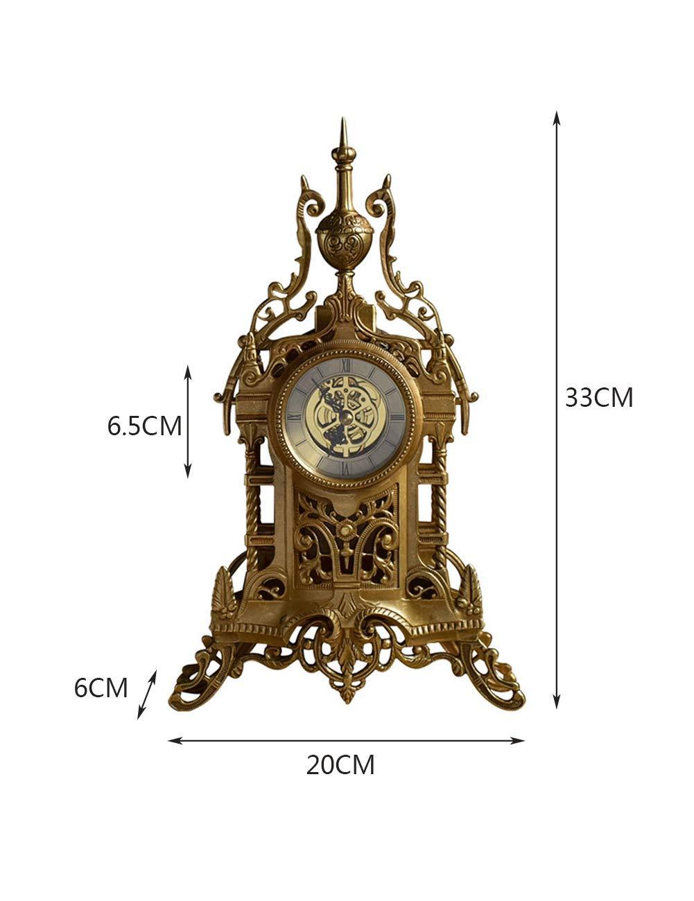 Young shinee Clásico Vintage Mesa Reloj Decorativo Castillo Diseño ...