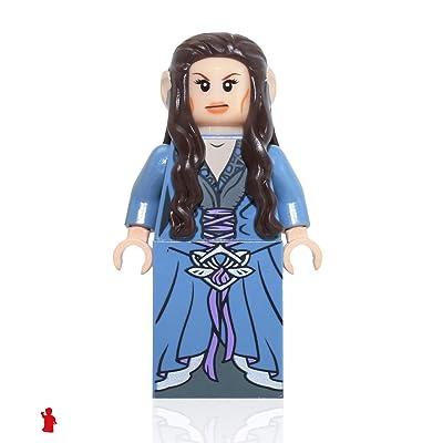 Lego minifigs [ hobbit ] Arwen_A: Toys & Games