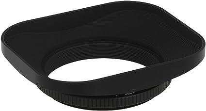 vhbw Parasole Metallo Universale 46mm nero per Panasonic