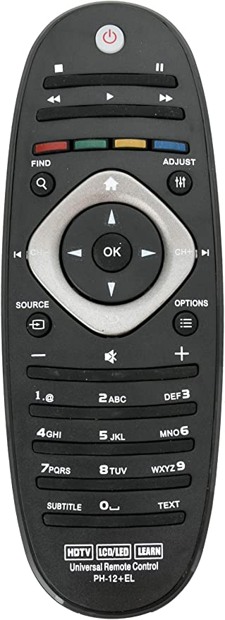 ALLIMITY Universal Control Remoto reemplazado Apto para Philips Blue-Ray Player LED LCD TV: Amazon.es: Electrónica