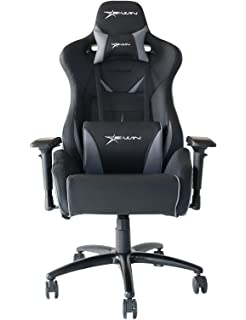 Ewin Chair Flash Series Ergonomic High Back Computer Gaming Office Chair with Pillows - FLNB (