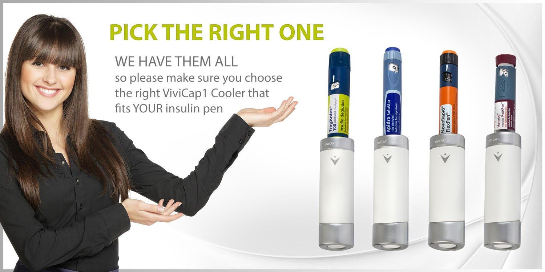 Small Reusable Insulin Cooler Pen-Cap by TempraMed | Vivi CAP1 for Sanofi SoloStar: Lantus, Apidra | Keeps Insulin Cool | for Daily use and Travel | FDA Registered by VIVI CAP (Image #2)
