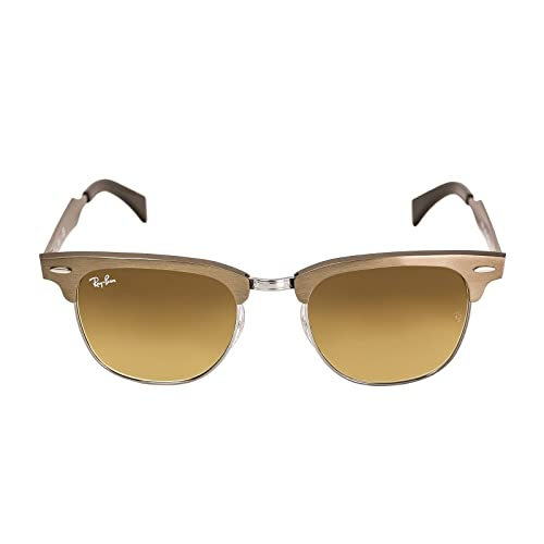 d2d205cd8fabf RAY BAN CLUBMASTER ALUMINUM RB 3507 139 85 51MM BRUSHED BRONZE   LIGHT BROWN   Amazon.ca  Shoes   Handbags