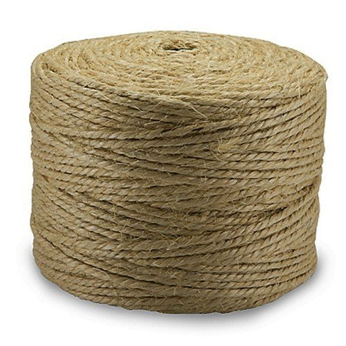 300 feet Sisal Twine Heavy Duty 2 Ply 100% All Natural Fiber Rope