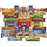Variety Fun by Custom Varietea  Assortment Includes: • 6 Natures Bakery Fig Bars (2oz)  • 5 Quaker Chewy Bars (0.78 oz) • 3 Nature Valley Trail Mix Fruit & Nut Chewy (1.2 oz) • 3 Nature Valley Sweet & Salty (1.2 oz) • 3 Nutri Grain Ba...