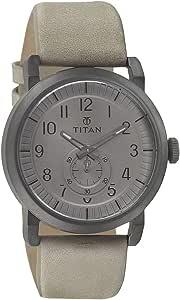 Titan Road Trip Analog Grey Dial Men Watch 90025QL01J