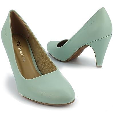 lowest price 934a3 68453 TAMARIS Damen Pumps, klassisch, Stiletto, mint grün pastell ...