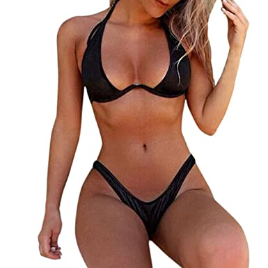 46b391bcd7da9 Lolittas 2018 Newest Bandeau Thong High Waist Micro Bikini Sets for  Women