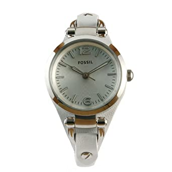 "Fossil Womens ES3267 ""Georgia"" Stainless Steel Watch with ..."